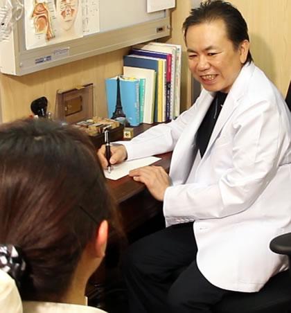 都筑先生の診療